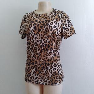 - Victoria's Secret Leopard Print Top- Women…